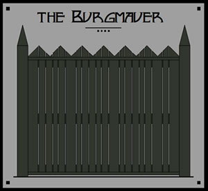 The Burgmauer - Click to make larger.