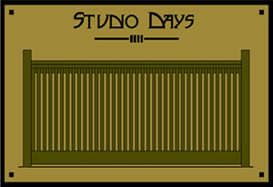 The Studio Days - Click to make larger.